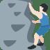 🧗🏻 person climbing: light skin tone Emoji on Twitter Platform