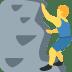 🧗♂️ man climbing Emoji on Twitter Platform