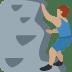 🧗🏽♂️ man climbing: medium skin tone Emoji on Twitter Platform