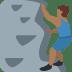🧗🏾♂️ man climbing: medium-dark skin tone Emoji on Twitter Platform