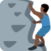 🧗🏿♂️ man climbing: dark skin tone Emoji on Twitter Platform