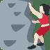 🧗🏻♀️ woman climbing: light skin tone Emoji on Twitter Platform