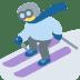 ⛷️ Person Skiing Emoji on Twitter Platform