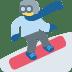 🏂 snowboarder Emoji on Twitter Platform