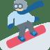🏂🏼 snowboarder: medium-light skin tone Emoji on Twitter Platform