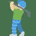 🏌🏼 Medium Light Skin Tone Person Golfing Emoji on Twitter Platform