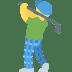 🏌️♂️ man golfing Emoji on Twitter Platform