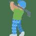 🏌🏽♂️ man golfing: medium skin tone Emoji on Twitter Platform