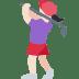 🏌🏻♀️ woman golfing: light skin tone Emoji on Twitter Platform