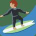 🏄🏽 person surfing: medium skin tone Emoji on Twitter Platform