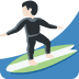 🏄🏻‍♂️ man surfing: light skin tone Emoji on Twitter Platform