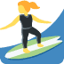 🏄‍♀️ woman surfing Emoji on Twitter Platform