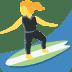 🏄♀️ woman surfing Emoji on Twitter Platform