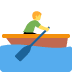 🚣 person rowing boat Emoji on Twitter Platform