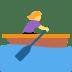 🚣♀️ Woman Rowing Boat Emoji on Twitter Platform