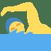 🏊♂️ Man Swimming Emoji on Twitter Platform
