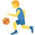 ⛹️‍♂️ man bouncing ball Emoji on Twitter Platform