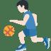 ⛹🏻♂️ man bouncing ball: light skin tone Emoji on Twitter Platform