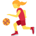⛹️‍♀️ woman bouncing ball Emoji on Twitter Platform