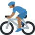 🚴🏾 person biking: medium-dark skin tone Emoji on Twitter Platform
