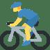 🚴♂️ man biking Emoji on Twitter Platform