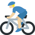 🚴🏼‍♂️ Medium Light Skin Tone Man Biking Emoji on Twitter Platform