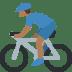 🚴🏾♂️ man biking: medium-dark skin tone Emoji on Twitter Platform