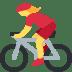 🚴♀️ woman biking Emoji on Twitter Platform