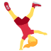 🤸 person cartwheeling Emoji on Twitter Platform