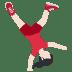 🤸🏻 Light Skin Tone Person Cartwheeling Emoji on Twitter Platform