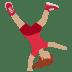 🤸🏽 person cartwheeling: medium skin tone Emoji on Twitter Platform