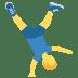 🤸♂️ man cartwheeling Emoji on Twitter Platform