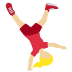 🤸🏼‍♀️ woman cartwheeling: medium-light skin tone Emoji on Twitter Platform