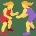 🤼♀️ women wrestling Emoji on Twitter Platform