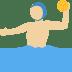 🤽🏼 person playing water polo: medium-light skin tone Emoji on Twitter Platform