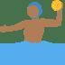 🤽🏾 person playing water polo: medium-dark skin tone Emoji on Twitter Platform
