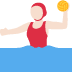 🤽🏻‍♀️ woman playing water polo: light skin tone Emoji on Twitter Platform