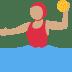 🤽🏽♀️ Medium Skin Tone Woman Playing Water Polo Emoji on Twitter Platform
