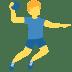 🤾♂️ man playing handball Emoji on Twitter Platform