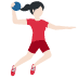 🤾🏻♀️ woman playing handball: light skin tone Emoji on Twitter Platform