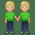 🧑🏼🤝🧑🏼 people holding hands: medium-light skin tone Emoji on Twitter Platform
