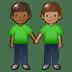 🧑🏾🤝🧑🏽 people holding hands: medium-dark skin tone, medium skin tone Emoji on Twitter Platform