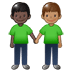 🧑🏿‍🤝‍🧑🏽 people holding hands: dark skin tone, medium skin tone Emoji on Twitter Platform