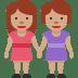 👭🏽 women holding hands: medium skin tone Emoji on Twitter Platform