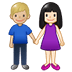 👩🏻‍🤝‍👨🏼 woman and man holding hands: light skin tone, medium-light skin tone Emoji on Twitter Platform