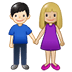 👩🏼‍🤝‍👨🏻 woman and man holding hands: medium-light skin tone, light skin tone Emoji on Twitter Platform