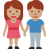 👫🏽 woman and man holding hands: medium skin tone Emoji on Twitter Platform