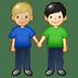 👨🏼🤝👨🏻 men holding hands: medium-light skin tone, light skin tone Emoji on Twitter Platform
