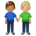 👨🏽‍🤝‍👨🏼 men holding hands: medium skin tone, medium-light skin tone Emoji on Twitter Platform