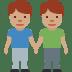 👬🏽 men holding hands: medium skin tone Emoji on Twitter Platform